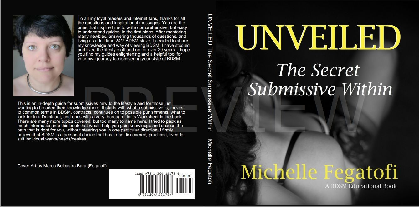 Unveiled - The Secret Submissive Within - non fiction educational book