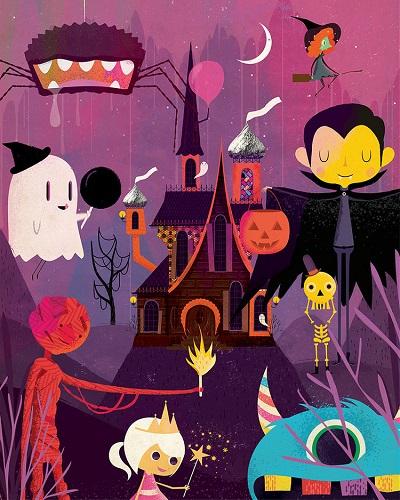 por Andrew Bannecker - Halloween