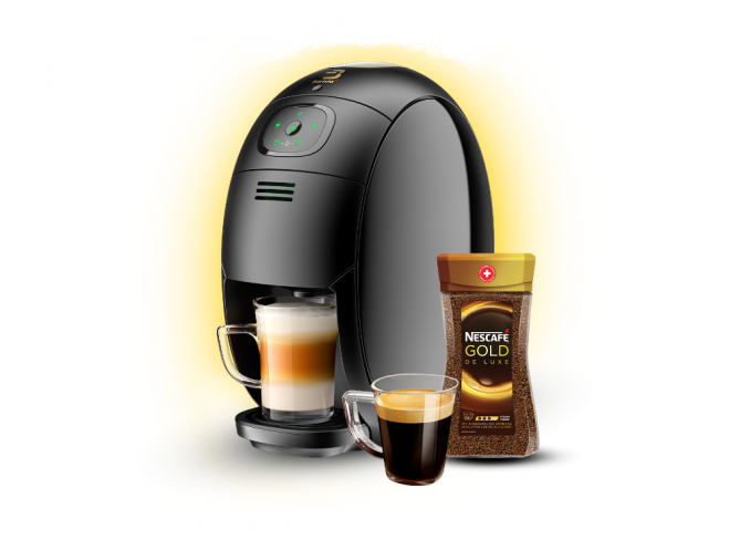 Nescafe Gold Blend Barista Machine Make You Be Barista in Malaysia - Selina Wing - Deaf Geek Blogger