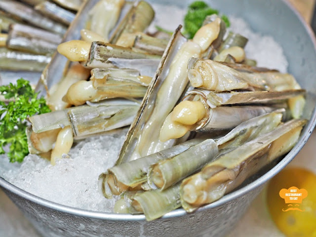 Weekend Seafood Buffet Bamboo Clam