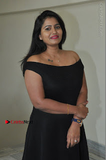 Telugu Actress Swathi Reddy Latest Stills in Black Gown  0025.JPG