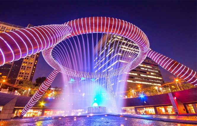Fountain of Wealth – Suntec City , Singapore | PLACES-CITY