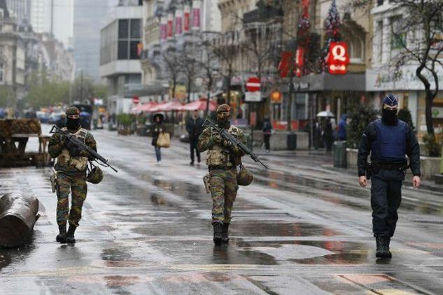 Αποτέλεσμα εικόνας για τρομοκρατική απειλή είναι σε εξέλιξη στις Βρυξέλλες