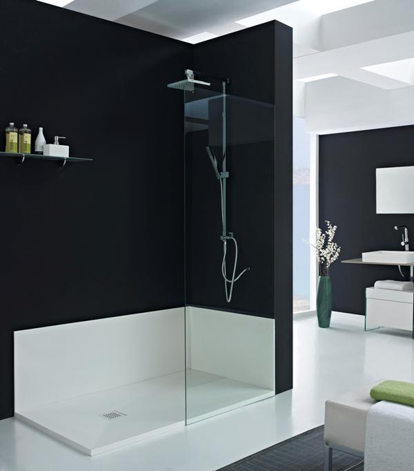 materiales de fábrica plato de ducha