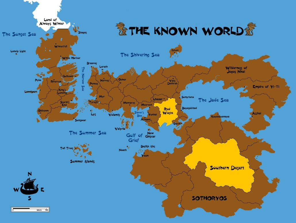 Nerdovore Map Of Earthos Game Of Thrones