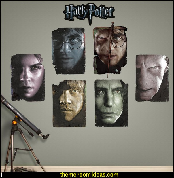 Harry Potter Paper Portrait Collection Real Decals