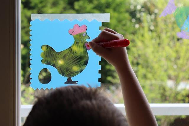 dessin de pâques en activité pour les enfants