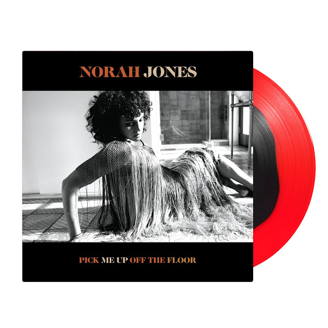 The Record Store presents Norah Jones and the vinyl and music video offerings for her album titled Pick Me Up Off The Floor. #NorahJones #TheRecordStore #RedBlackVinyl