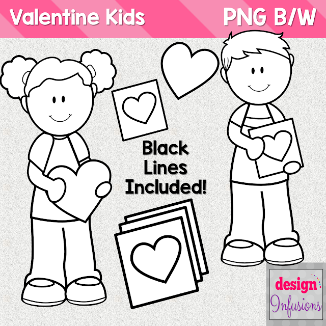 https://www.teacherspayteachers.com/Product/Valentine-Kids-Clipart-2315515