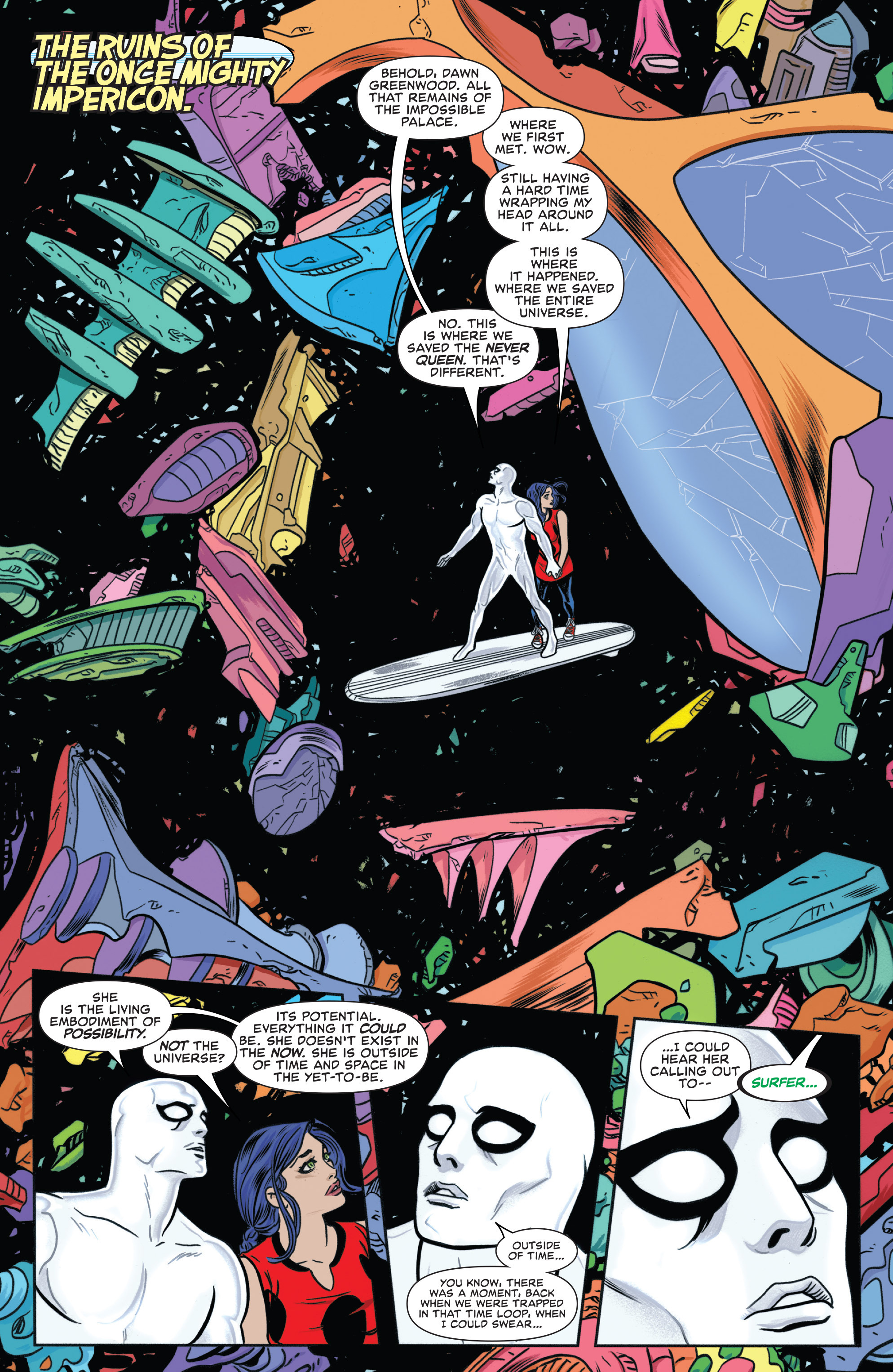 Read online Silver Surfer (2014) comic -  Issue #13 - 8