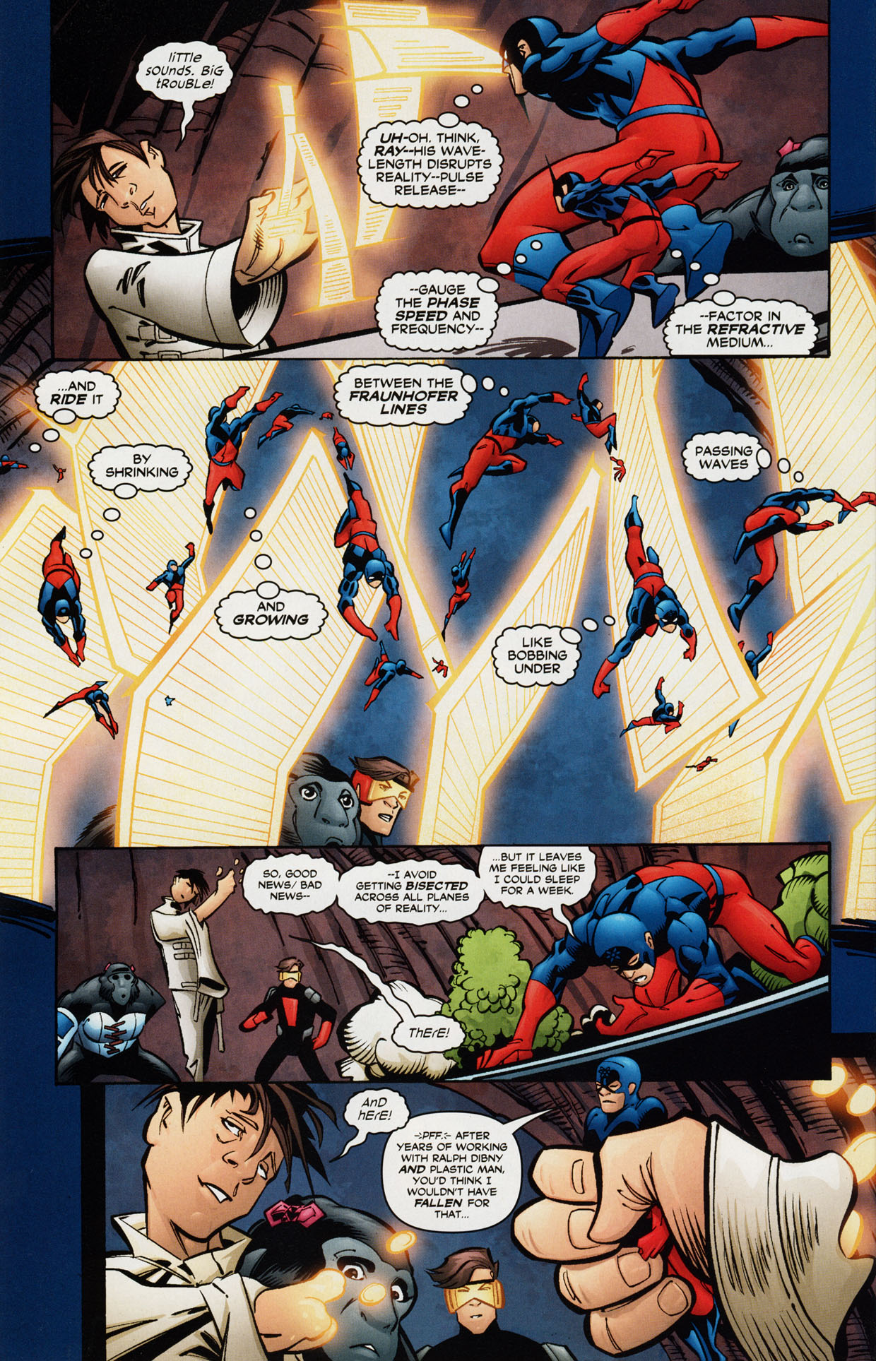 Read online Trinity (2008) comic -  Issue #36 - 27