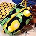 DIY Square Cosmetic Zipper Bag & Lemons! [Tutorial]