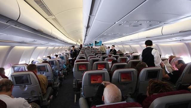 هل تعلم ان أقذر مكان على متن الطائرة ليس دورة المياه !!