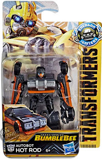 Hasbro Transformers Bumblebee Movie Speed Series Hot Rod 001