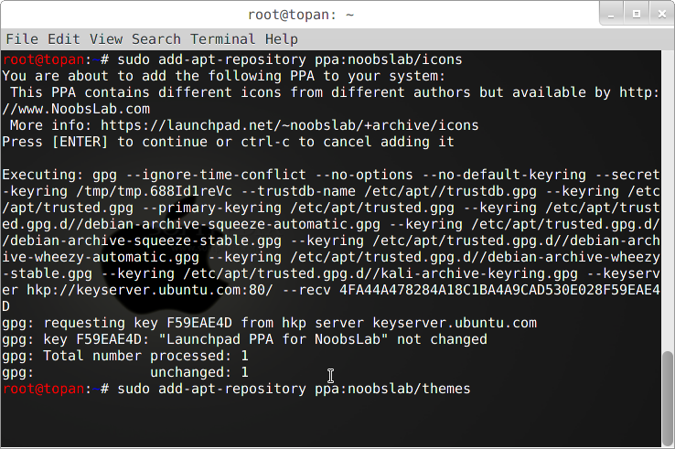 Cara Install Mac OS X Lion Theme Kali Linux