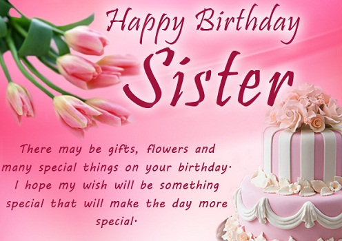 Happy Birthday Wishes For Sister Birthday Messages For Lovely