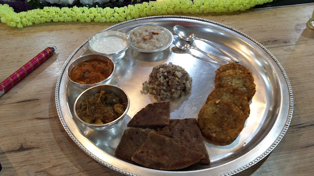 Royal NAVRATRI thali