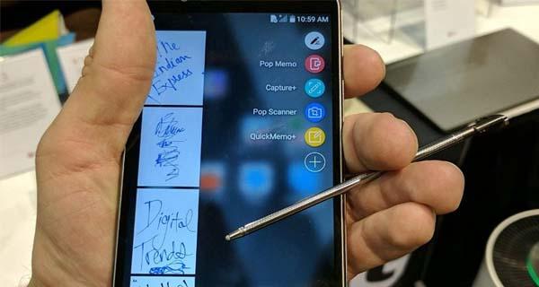 Smartphone dengan stylus - LG Stylo 3 Plus