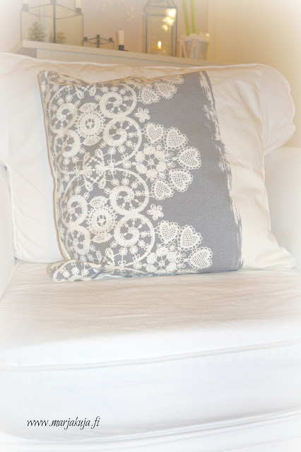 Greengate lace warm grey