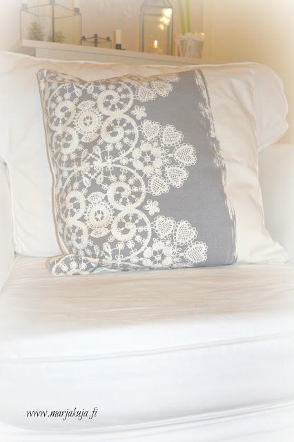 Greengate lace warm grey