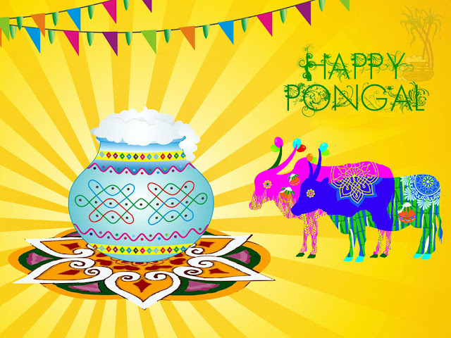 Happy Pongal 2018 Wallpapers