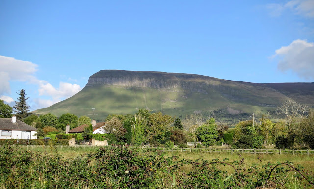 Travel Ireland by Rail from Dublin: Benbulben in County Sligo