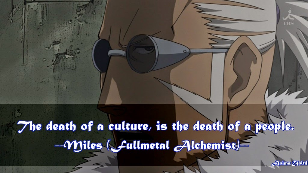 My Anime Review: Fullmetal Alchemist Quotes