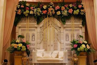 Resepsi Pernikahan di Rumah Agar Terlihat Mewah