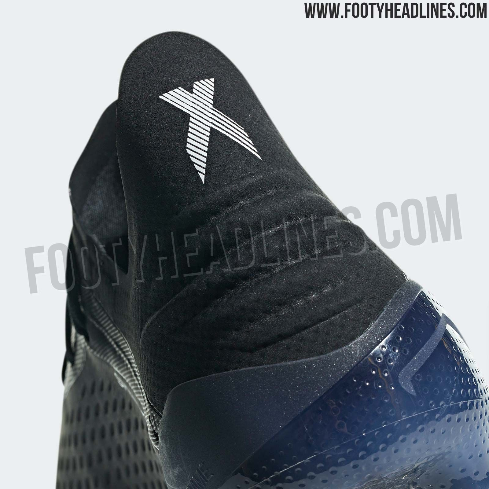 0d85e12fb85 Shadow Mode Adidas X 18.1 - Core Black   White   Core Black