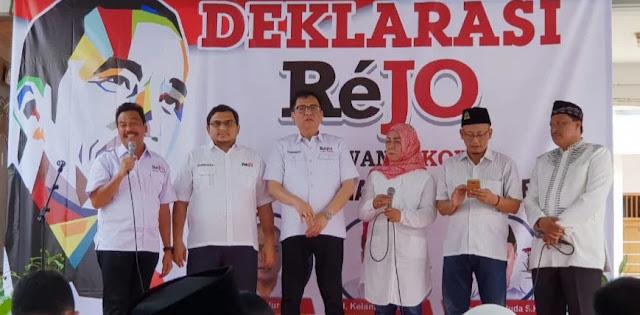 Man Jadda Wajada, Relawan Jokowi-Ma'ruf  Targetkan Menang 70% Di Jatim