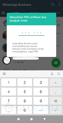 Cara Login Whatsapp Dengan Verifikasi 2 Langkah