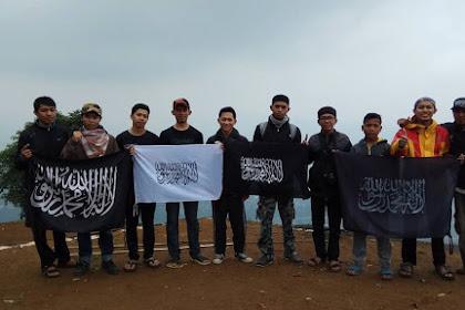 Mabit dan Silaturahmi LDS HTI Bandung, Berujung Pada Pengenalan Panji Rasulullah