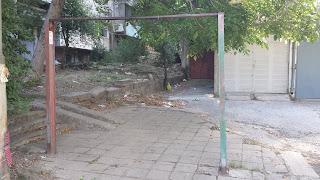 Communal, Carpet Beater, Frame, Yambol, Apartment Block,