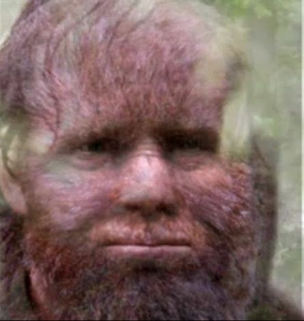 Todd Standing Bigfoot Hoax
