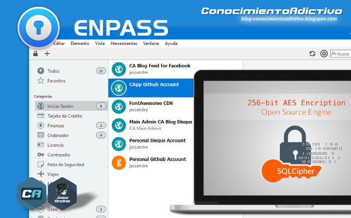 Enpass Password Manager - Software de gestión segura de contraseñas