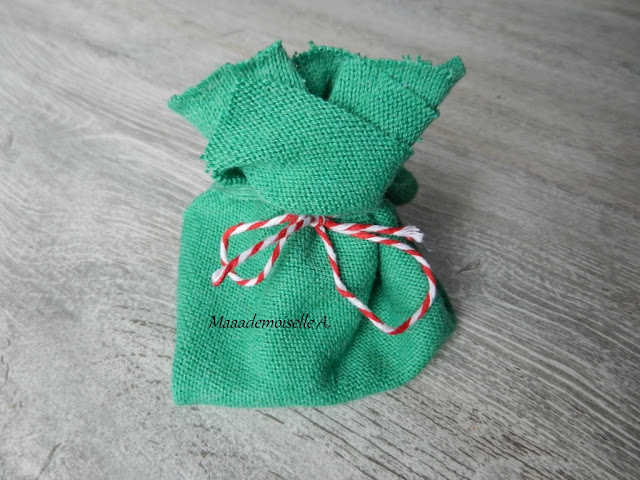 || DIY : Calendrier de l'Avent en pochons de tissu, sans couture, facile et rapide