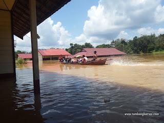 Banjir di Hulu Katingan