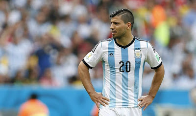 Kun Aguero duda contra Paraguay