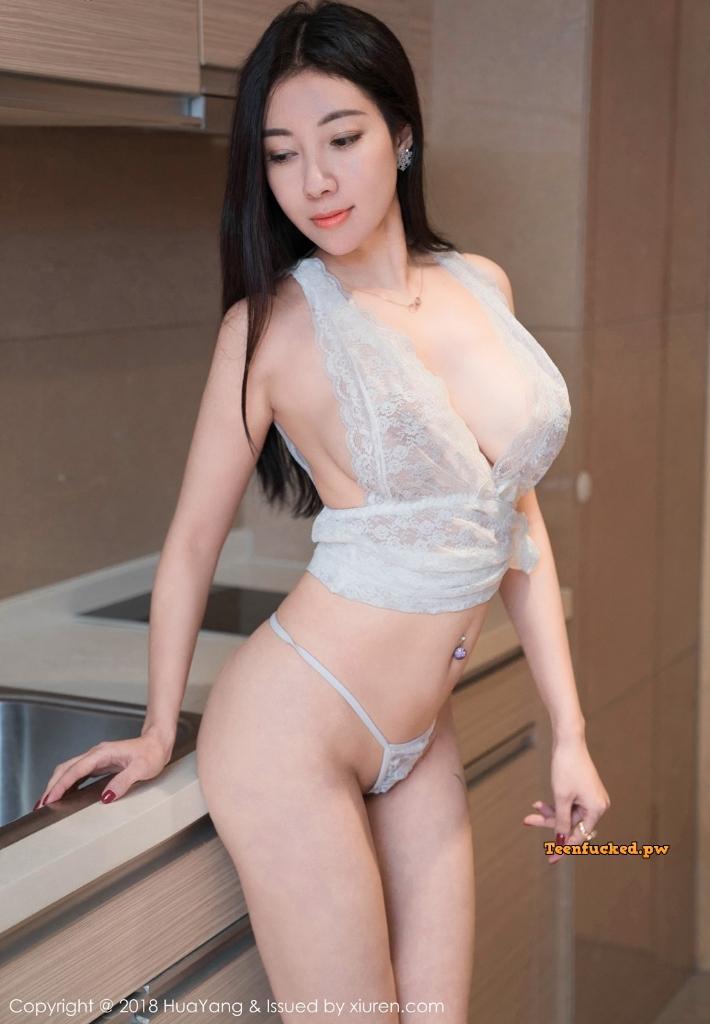 HuaYang 2018 10 23 Vol.090 Victoria Guo Er MrCong.com 032 wm - HuaYang Vol.090: Người mẫu Victoria (果儿) (43 ảnh)