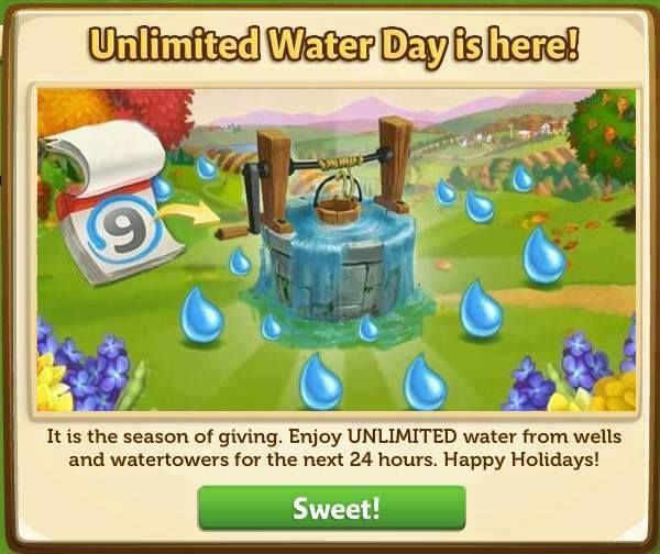 FarmVille 2 : Unlimited Free Water Day! - Games Media