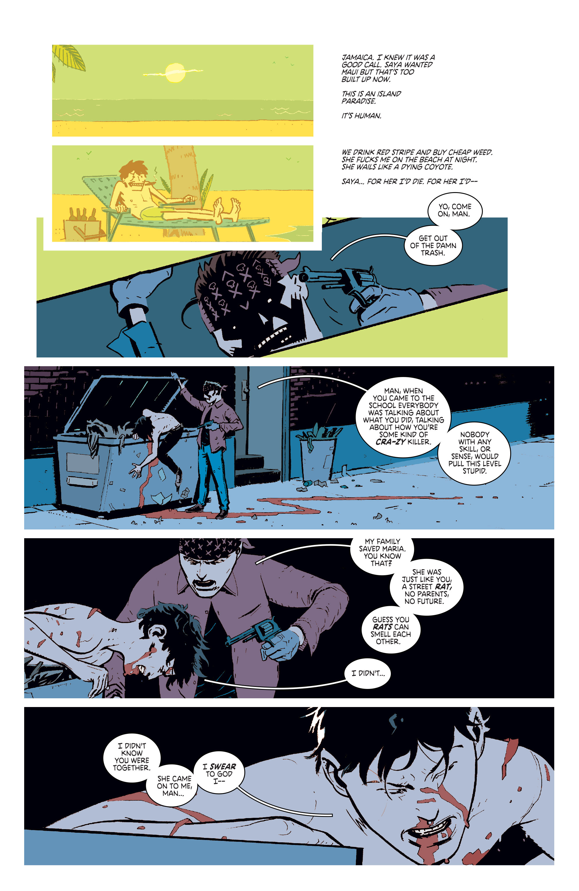 Read online Deadly Class comic -  Issue #6 - 7