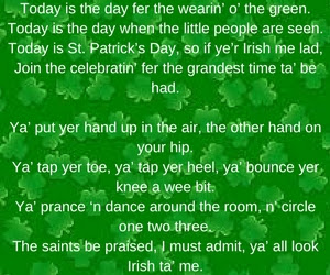 St Patrick's day poems for kids 2018