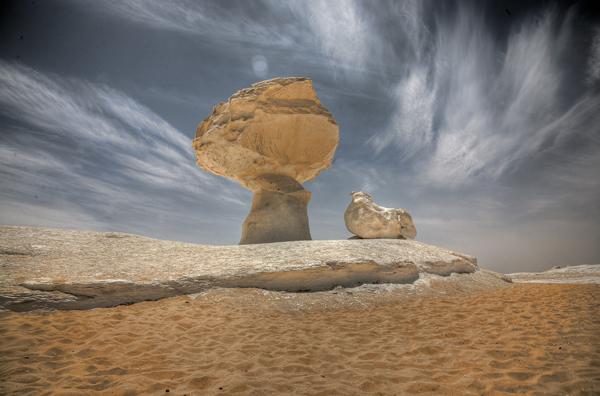 Lugar Bello e Inhóspito, Desierto Blanco (Farafra, Egipto) 1