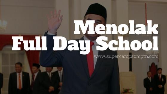 Menolak Full Day School