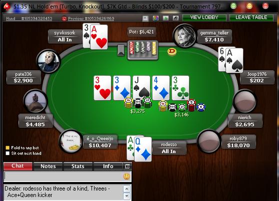 Pokerstars Rigged