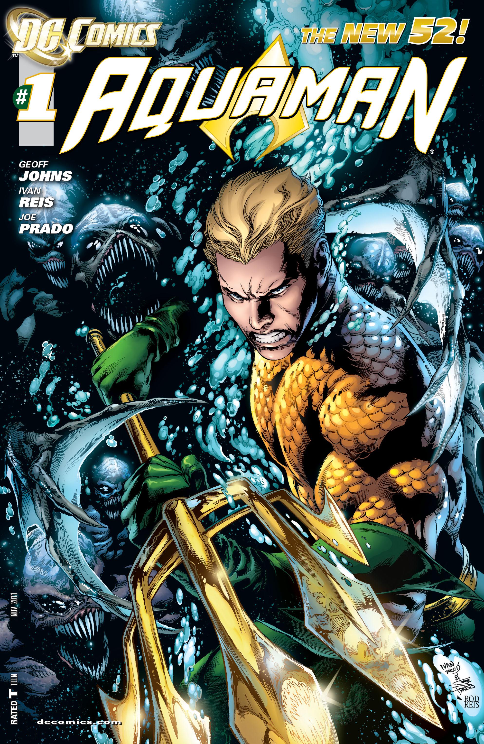 Read online Aquaman (2011) comic -  Issue #1 - 1