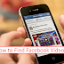 How to Find Videos On Facebook App Updated 2019