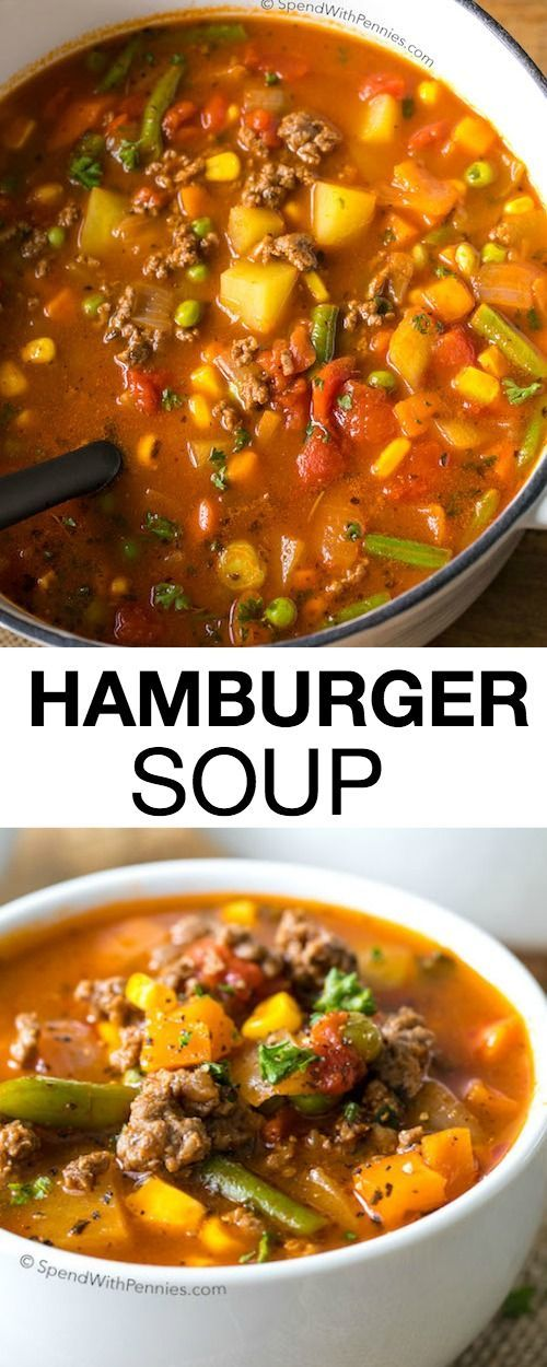 EASY HAMBURGER SOUP