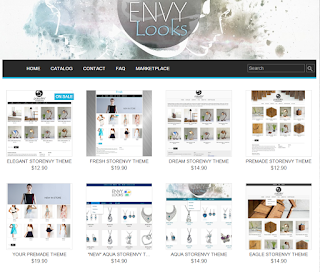 Storenvy Custom Store Themes by Envy Looks