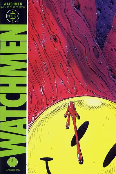 Cover to 'Watchmen' #1